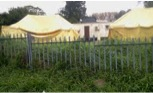 Village Clinic tents and a mobile unit count as clinic May 2013