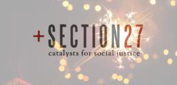 SECTION27, Header, Festive season, holidays, sparkles