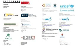 Open letter signatories
