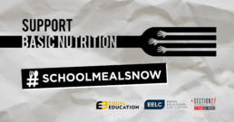 School meals now; Basic nutrition