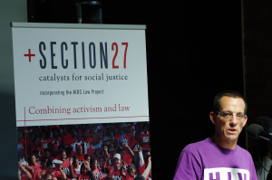 Introducing SECTION27, an organisation that will challenge the state and the private sector to fulfill their constitutional obligations on health