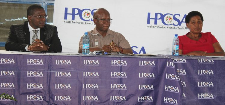 Health-e News: HPCSA urges residents to report misconduct