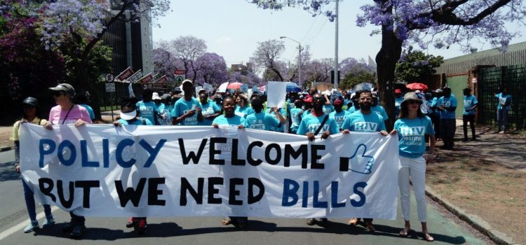 Patient groups march for access to medicines in South Africa