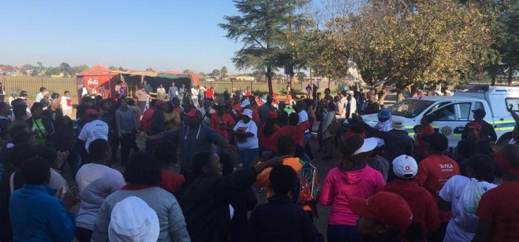 SECTION27 condemns protests that violate the rights of vulnerable people