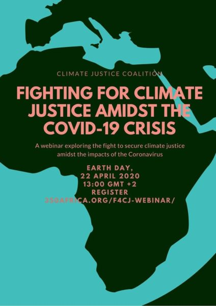 Fighting for climate justice