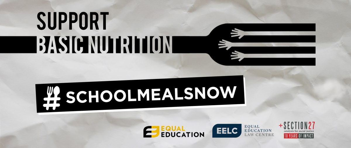 Support basic nutrition - #SchoolMealsNow