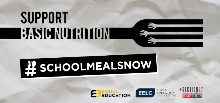 Joint media statement: Education MECs file school nutrition programme rollout plans that are full of holes, as we write to Minister Motshekga to fix hers