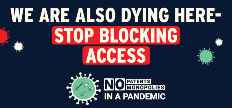 We are also dying here - stop blocking access!