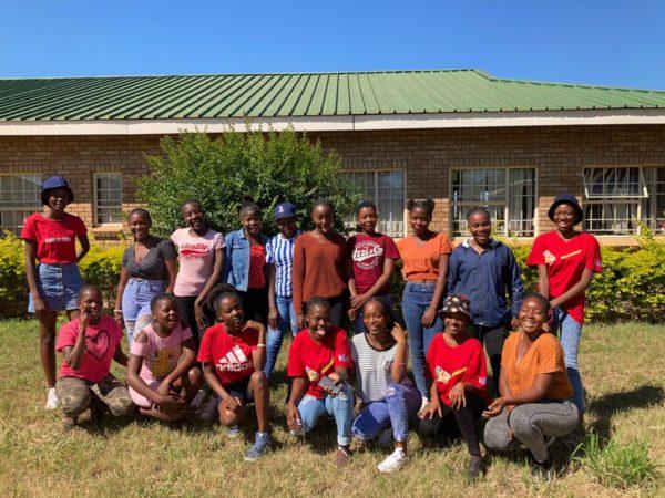 2021 Girls Empowerment Campaign Workshop at Ximuwane High School